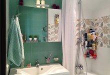 Добавим цвета в ванную комнату?