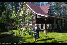 Дом дача в Сосново 170 кв.м. Интерьер и ландшафтный дизайн.