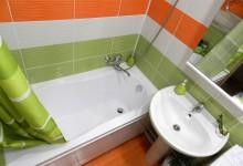 Дом желтой совы: ванная и туалет в цветах ирландского флага
