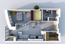 Друзья! Нужна помощь в разработке планировки квартиры