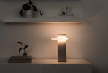Ретро-футуристический светильник
