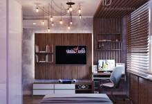 Две современные спальни в одной квартире
