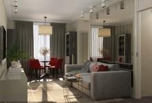 Двухкомнатная квартира для клиентов из Нового Уренгоя - 61,3 м²