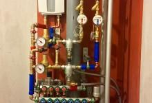 Ещё один вариант расположения трубопровода в санузле. Сто семнадцатая часть.