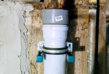 Ещё один вариант расположения трубопровода в санузле. Сто тридцать четвёртая часть.