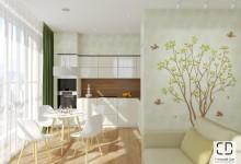 Дизайн проект квартиры в г. Уфа