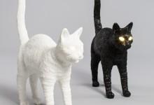 Кошки-мышки в мире дизайнерских светильников