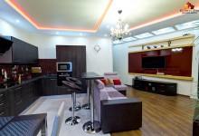Дизайн 2-комнатной квартиры в стиле Арт-Деко. Фото реализованного проекта
