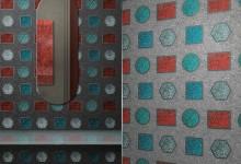 Мозаика: драгоценные камни на стене