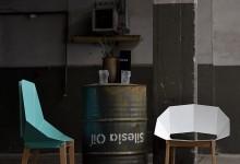 Металлические стулья: брутальная грация