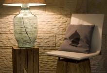 Дизайнерские светильники: свет из бутылки