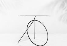 Минималистичные столы: игры с перспективой