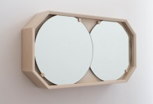 Перекати-зеркало: оргинальный зеркальный шкафчик