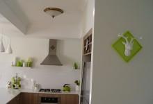 Гостиная, обеденная и кухонная зона в одном флаконе