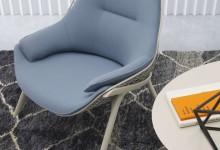 Кресло-корзинка и пуф