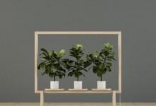 Окно в зеленый мир: комбинированная стойка для цветов