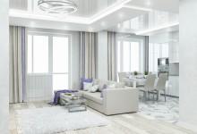 Дизайн интерьера квартиры в ЖК Ньютон