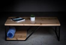 Журнальный стол наискосок