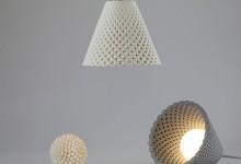 Воздушный светильник... из бетона