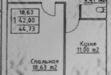 Идеи для однокомнатной квартиры 45 м.кв.