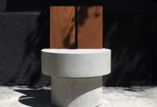 Контраст бетона и дерева