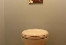 История одной квартирки. Голубой туалет