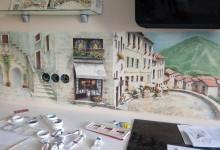 Италия на стене в кухне