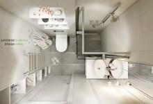 Квартира 29 кв.м. в стиле минимализм в ЖК Апила