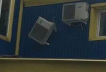 Как не надо и как надо вешать кондиционер (вентилируемый фасад)