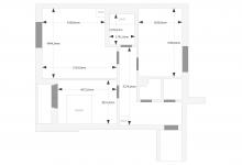 как расставить мебель в кухне гостиной?