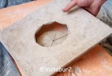 Как сделать аккуратное отверстие в керамограните под вентиляцию или канализацию.