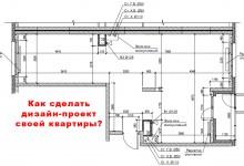 Как сделать дизайн-проект своей квартиры?