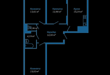 Как сделать из трехкомнатной квартиры четырехкомнатную?