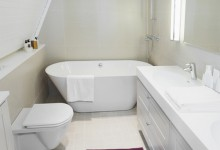 Как визуально увеличить ванную комнату