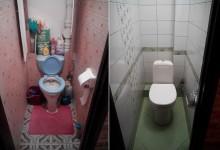 Капитальный ремонт маленького туалета