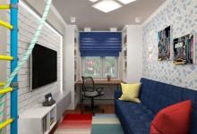 Комната для подростка с элементами loft