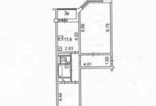 Комнаты 27 и 12 метров. Как улучшить планировку?