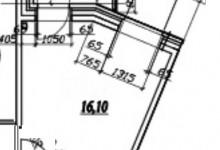 Кракозябра  16 м. кв. для пожилого человека
