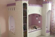 Кровать-замок для дочки :)