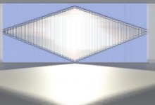 Жалюзи: узор на окнах