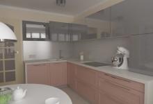 Кухня для планировки п44т