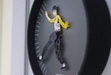Часы в духе кунгфу