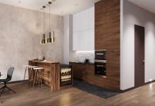 Квартира 150 кв.м. в современном стиле в ЖК Садовые кварталы.