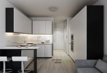 Квартира 29 кв.м в стиле минимализм в ЖК Апила