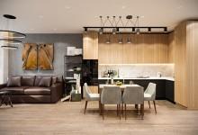 Квартира 73 кв.м в современном стиле в ЖК «Квартал 38А»