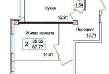 Квартира для пятерых человек