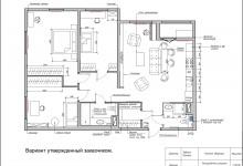 Квартира с элементами лофта в ЖК Самоцветы