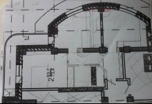 Квартира с круглыми стенами.
