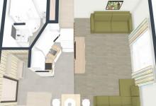 Квартира студия 24,6 м под сдачу ( микс из предложений)