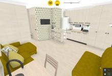 Квартира студия 24,6 м под сдачу